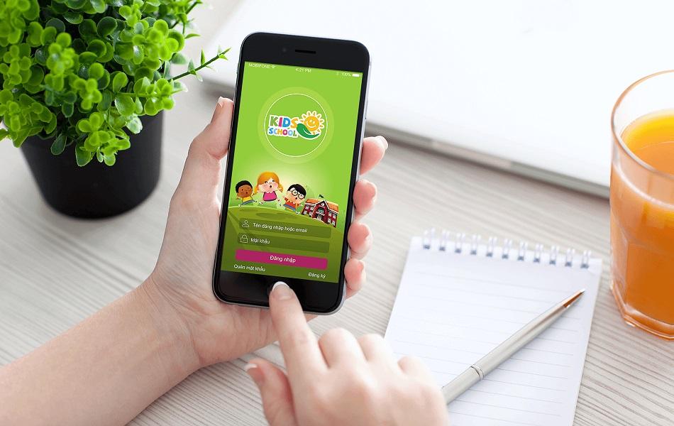 Thiết kế app trường học tại Hà Nội