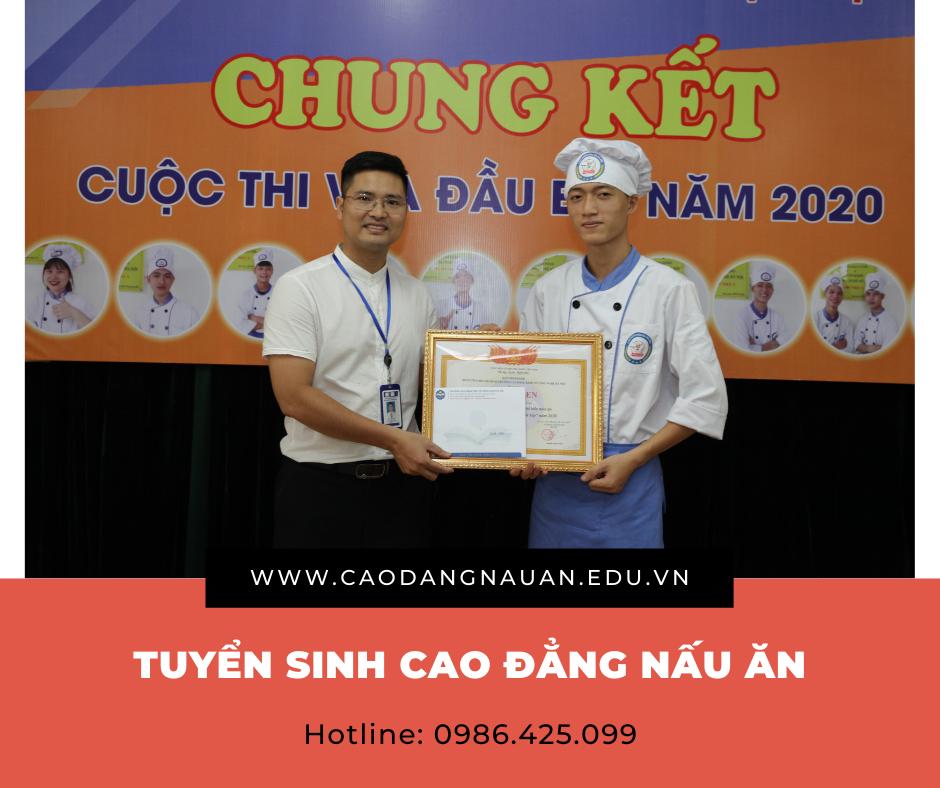 Xét tuyển cao đẳng nấu ăn Hà Nội